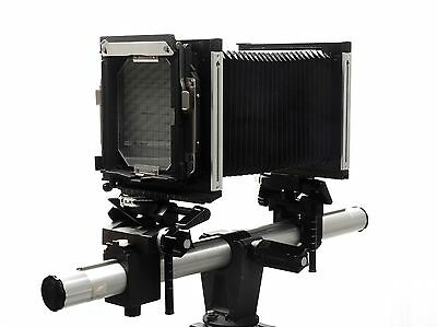 "Sinar F 4x5 Large Format View Camera Body, 23"" Rail"