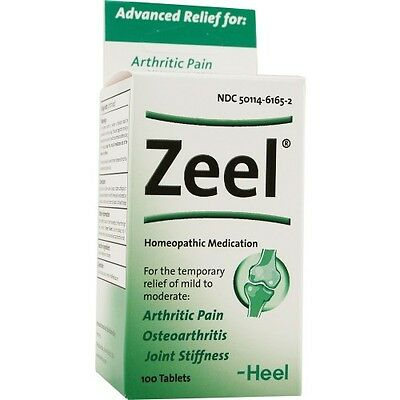 Zeel Tablets Ointment Heel Homeopathic Products