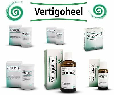 Vertigoheel Tablets Drops Tablets Heel Homeopathic Products