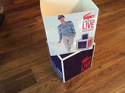 LACOSTE L!VE- LIVE pour Homme* 100ml  EDT- Eau De Toilette  Spray