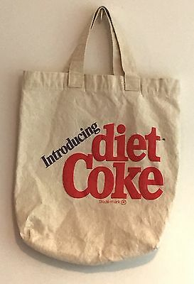 Introducing Diet Coke Canvas Tote Bag Vintage Advertising