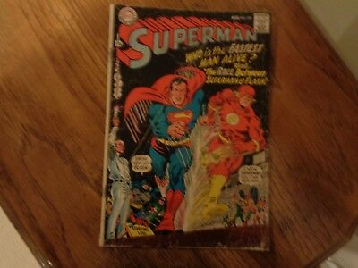 National Comics Superman #199 (Aug 1967, DC) Flash and Superman Race