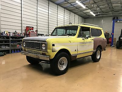 1976 International Harvester Scout  1976 International Scout II , Matching number 345 and Auto Trans, Fresh rebuild