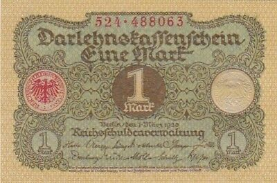 UNC 1920 Germany 1 Mark Note, Pick 58