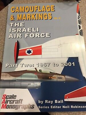 IAF Israeli Air Force Book Lot:  The Shield of David, Camouflage & Markings, A-4