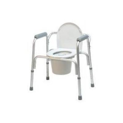 Gfhc-2195A4-Lumex 3-In-1 Toilet Assist Commode W/ Back Bar (4/cs)