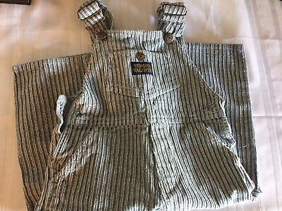 Vintage child's Sergio Valente Bibs 3T Overalls Corduroy Rare And Cute!!