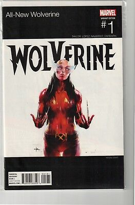 ALL NEW WOLVERINE #1 HIP-HOP VARIANT - X-23 - LAURA KINNEY as Wolverine - NM