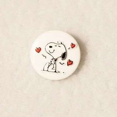 JHB Snoopy Love Button