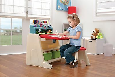 STEP2 Flip and Doodle Easel Desk With Stool.From the Official Argos Shop on ebay
