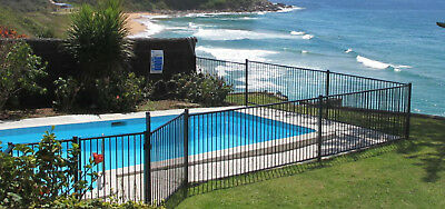 Black Pool Fence - approx 15m in total