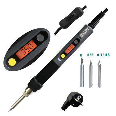 CXG C60W Soldering Iron LCD Backlight Temperature with Power Swtich 220V EU Plug