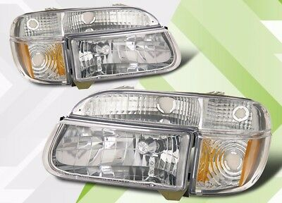 SET THOR FOUR WINDS INFINITY 1997 1998 1999 CLEAR HEADLIGHTS SIGNAL LAMPS RV