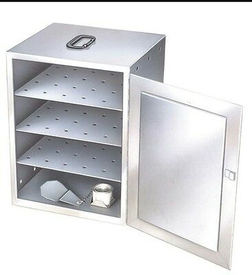 Lakeside 112 S/S Three Shelf Mobile sterno Warmer Food Carrier Hot food box