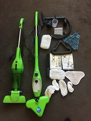 h20 mop x5 Vacuum And Steam Mop Combo With Attachments