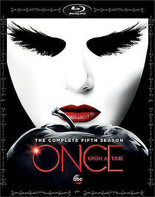 Once Upon A Time: The Complete Fifth Season (Blu-ray Disc, 2016, 5-Disc Set)