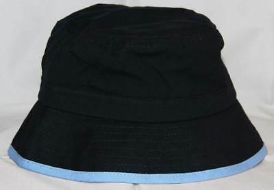 Navy Baby Boy Bucket Sun Hat Cap Adjustable Cotton 2-4yrs FREE SHIPPING