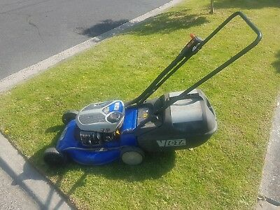 Victa Tornado Classic V160 Lawn Mower with catcher