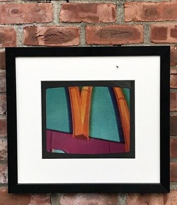 Peter Alexander Lithograph Golden Arches 1972. Charles Cowles Gallery. Signed