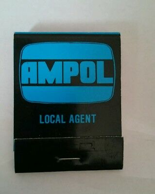 Vintage Ampol Local Agent Match Book /Matches