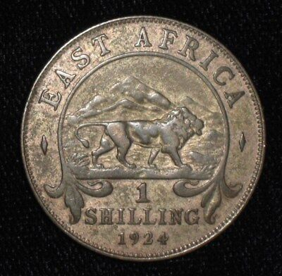 1924, Shilling from British East Africa. No Reserve!