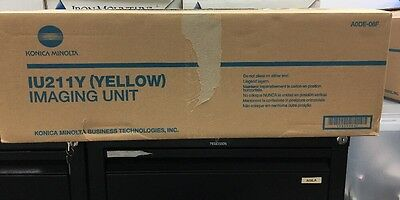 Genuine Konica Minolta BizHub C203 C253 Yellow Image Unit IU211Y