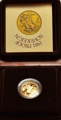 1981 Proof  Sovereign  *1116