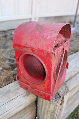 Old Railway Lantern Light