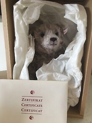 Steiff Limited Edition 1999 British Collectors Bear with Certificate & Box
