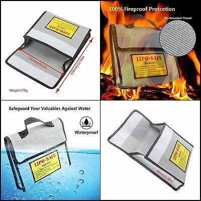 Safe bag Fire&water Resistant Lipo Battery Charging Storage for persanal iteams