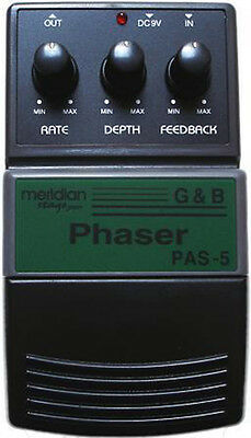 Vintage Meridian Stage Pro Phaser Pas-5 New