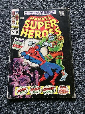 Marvel Super Heroes #14 - Marvel Comics - May 1968 - Spider-Man - 1st Print
