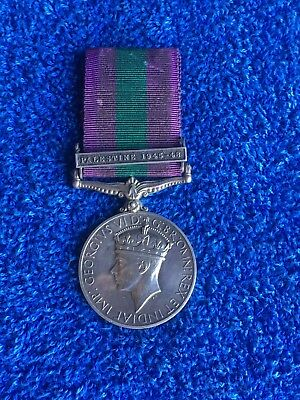 Post Ww2 General Service Medal