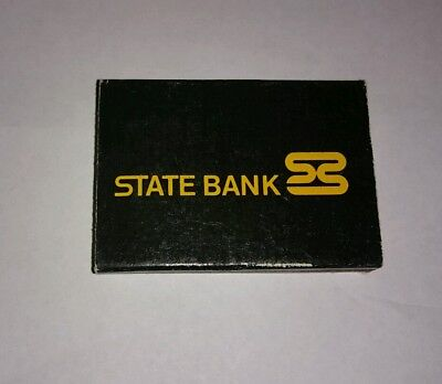 Vintage State Bank Bankcard  Match Book/ Matches