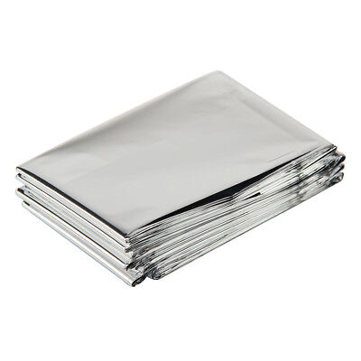 1 x foil soace blanket emergency survival blanket rescue first aid camp W8I3