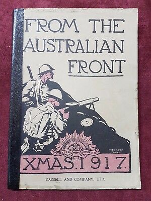Ww1 Book From The Australian Front Xmas 1917 2