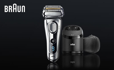 Braun Series 9 Shaver 9290cc Wet & Dry with Clean & Charge System