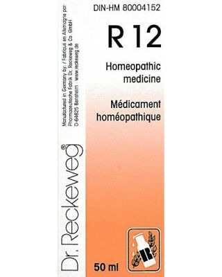 Dr. Reckeweg R12 Calcification Drops 50ml Homeopathic Remedy