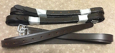 New brown numbered stirrup leathers