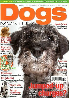 Dogs Monthly Magazine February 2015 NOVA SCOTIA DUCK TOLLING RETRIEVERS