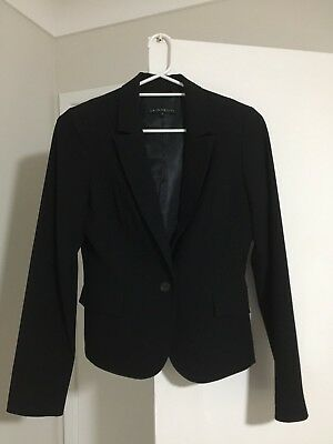 Cue in the City 2-Piece Black Skirt Suit - Size 10
