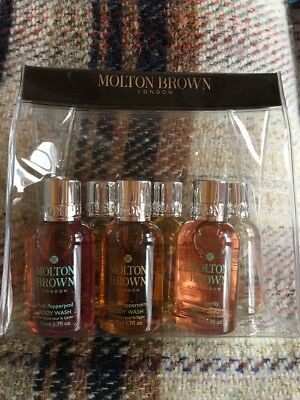 Molton Brown Gift Set of 6 X 50ml Body Washes In Bag BN 💕