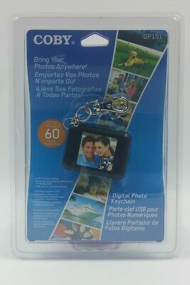 Coby DP151WHT 1.5-Inch Digital TFT LCD Photo Keychain