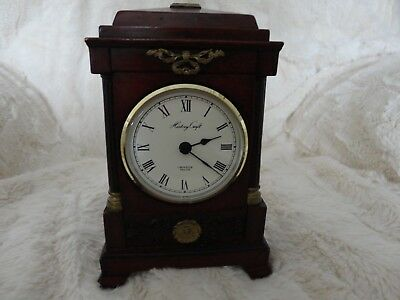 History Craft Mantle Clock Will Be Sent Free Signed Recorded