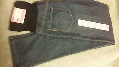 Great Expectations Maternity DENIM JEANS Pants Bootcut S (4-6) NEW WITH TAGS