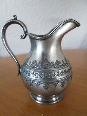 James Deakin & Sons Electro Plate Small Silver Jug 4""