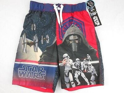 Star Wars Rogue One Boys Board Shorts size 8 Medium (M) NWT NEW Swimsuit