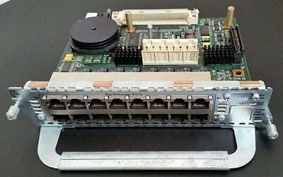 CISCO NM-16ESW SWITCH MODULE for CCNA CCNP CCIA or LAB