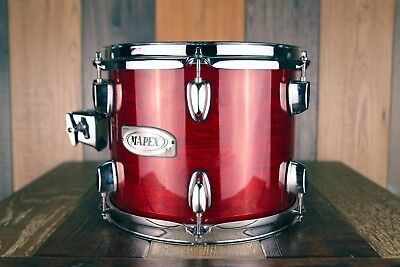 Mapex M Series 10 X 8 Tom, Transparent Cherry Red Lacquer