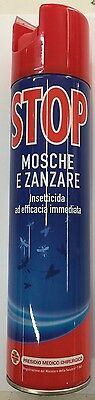 3X STOP insetticida mosche zanzare e volatili spray efficacia immediata 400ml.